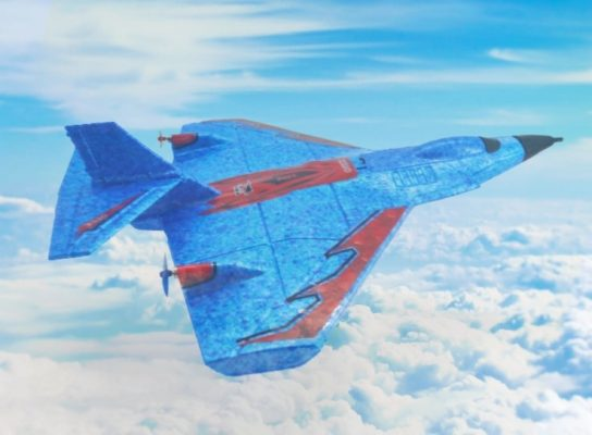 X320 in de lucht